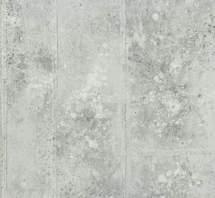 Vliestapete Beton hellgrau P+S Origin 42100-40