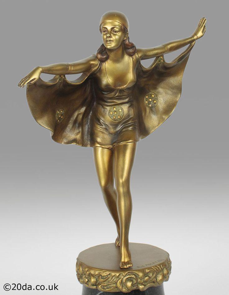 494 best art deco table figural sculptural lady lamps bronze spelter figurines sculpture. Black Bedroom Furniture Sets. Home Design Ideas