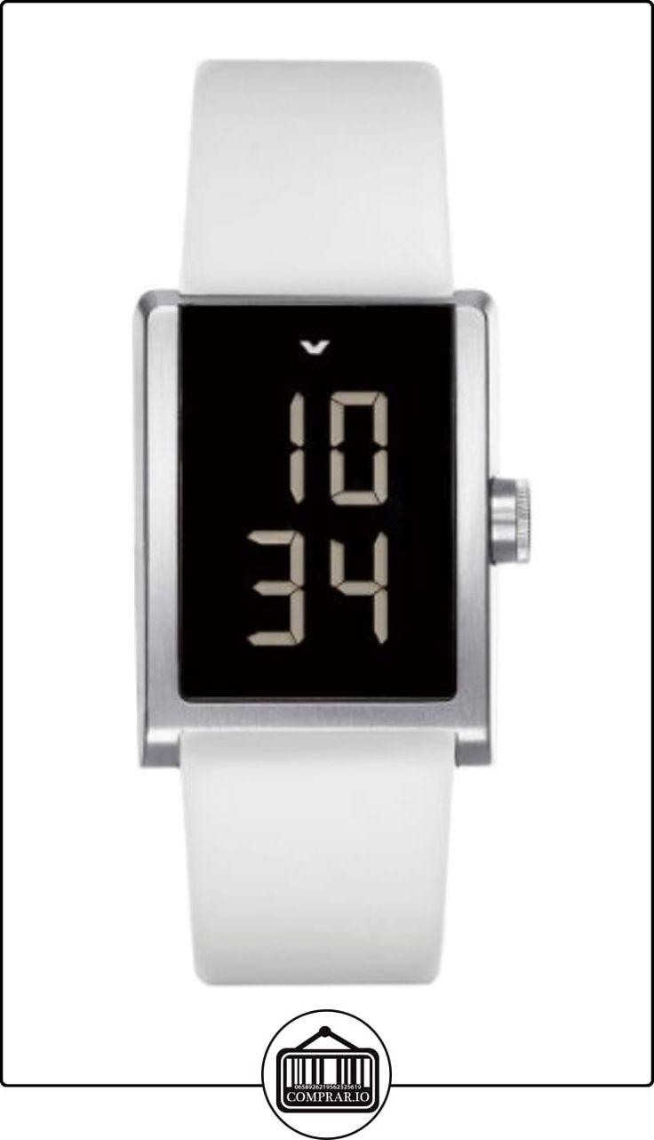 Ventura W 11 R4 - Reloj digital para hombre, correa de goma color blanco  ✿ Relojes para hombre - (Lujo) ✿