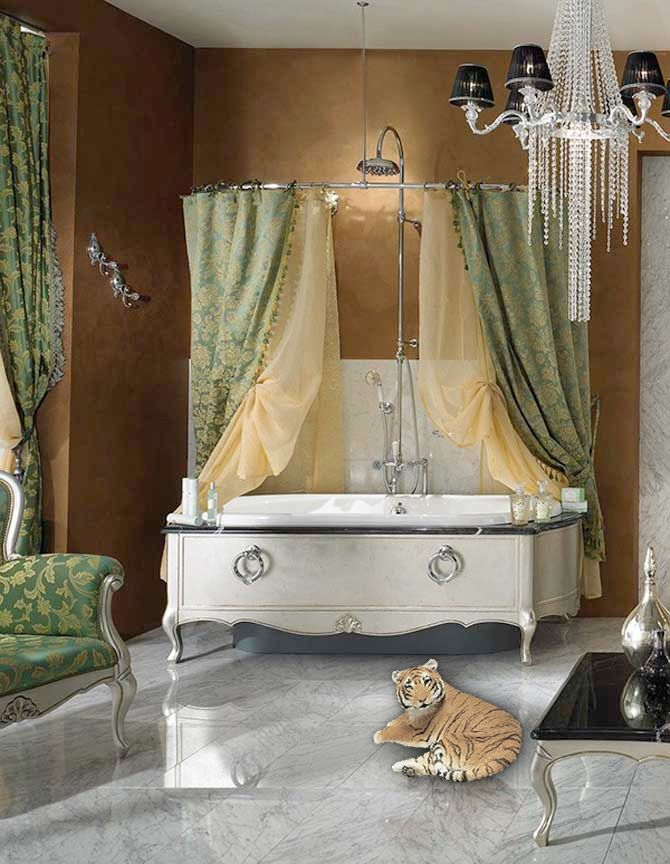 109 best images about safari bathroom on pinterest for Jungle bathroom ideas