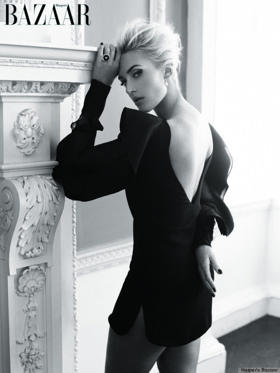 "Kate Winslet Is Practically Unrecognizable On ""Harper's Bazaar UK"""