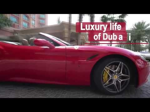 QUESTRA - Dubai Spring Vacation - ENJOYING THE WEALTH and the CARS !!