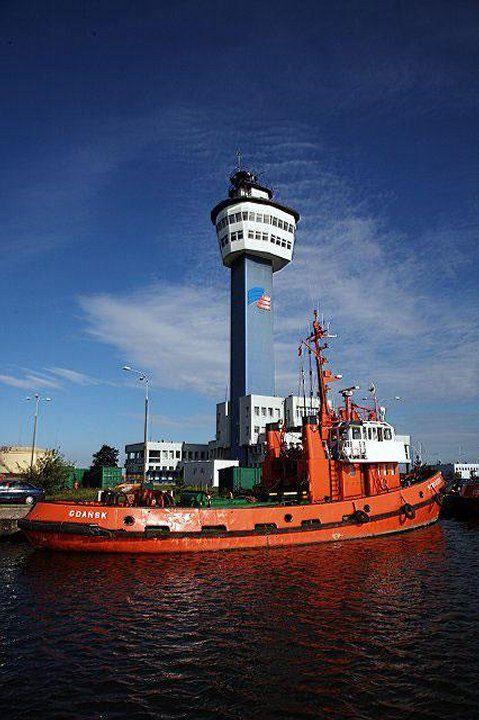 Polskie latarnie morskie - Latarnia Gdańsk Port Północny