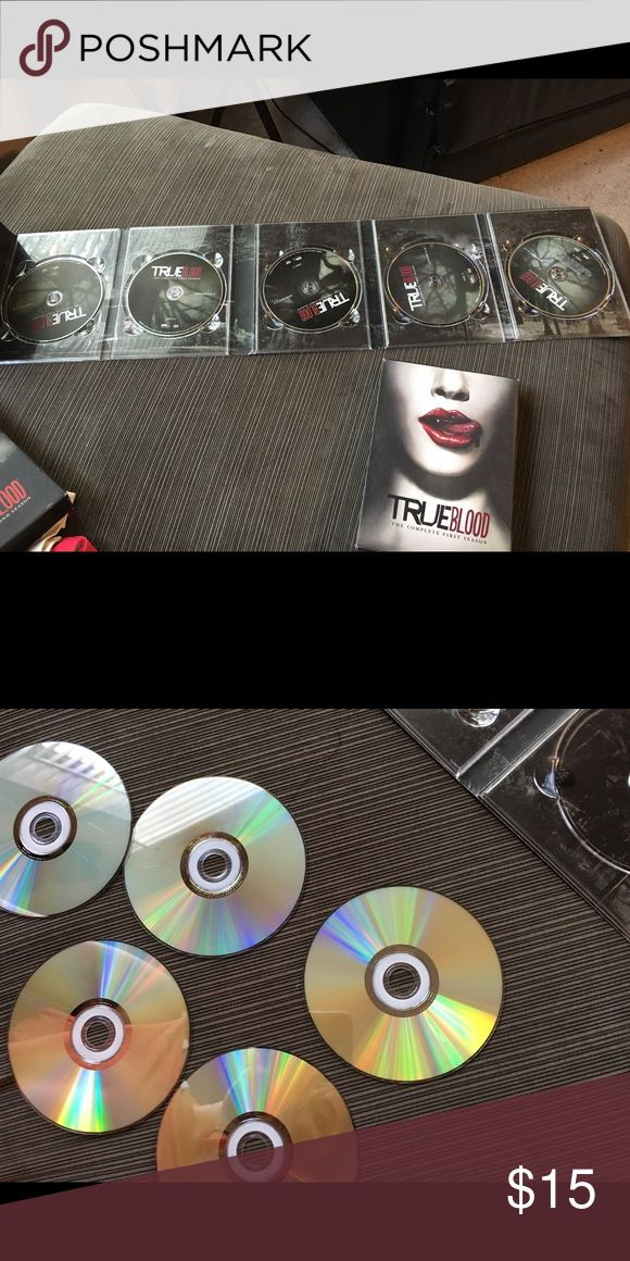 True Blood season 1 True Blood season 1. Great condition. Every disc plays. Also have season 2 for sale. Other