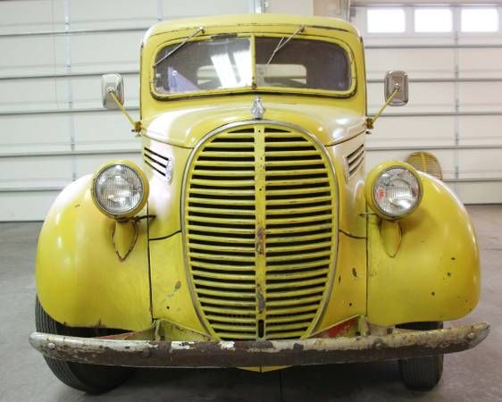 Aviation Fuel Truck Find: 1939 Ford