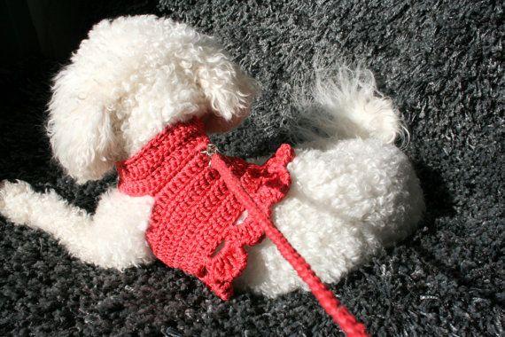 PET+harnas+hond+jurk+harnas++jurk+voor+kleine+hond+door+BubaDog