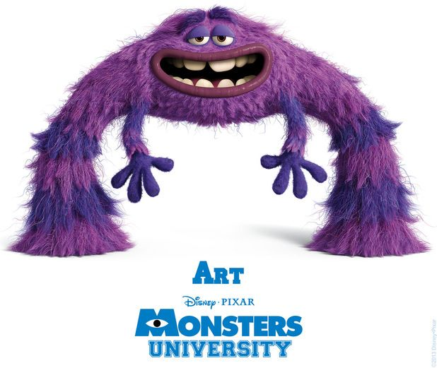 monsters university characters | Back to article: 'Monsters University' unveils character posters, ID ...