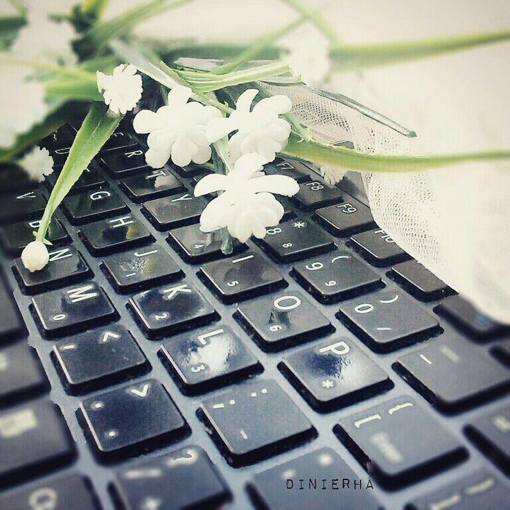 Laptop. Keyboard