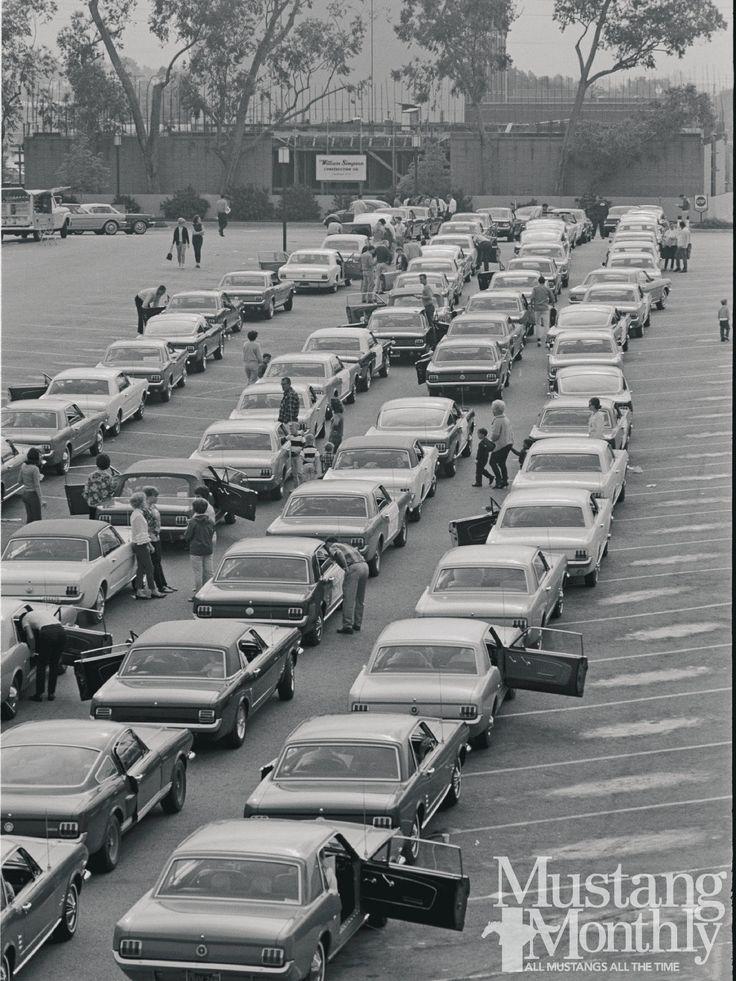 1966 Mustang Rally Checkpoint Rally Photo 5