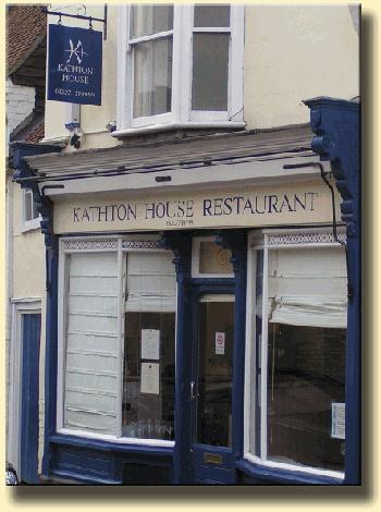 Kathton House Restaurant, Sturry, Nr Canterbury