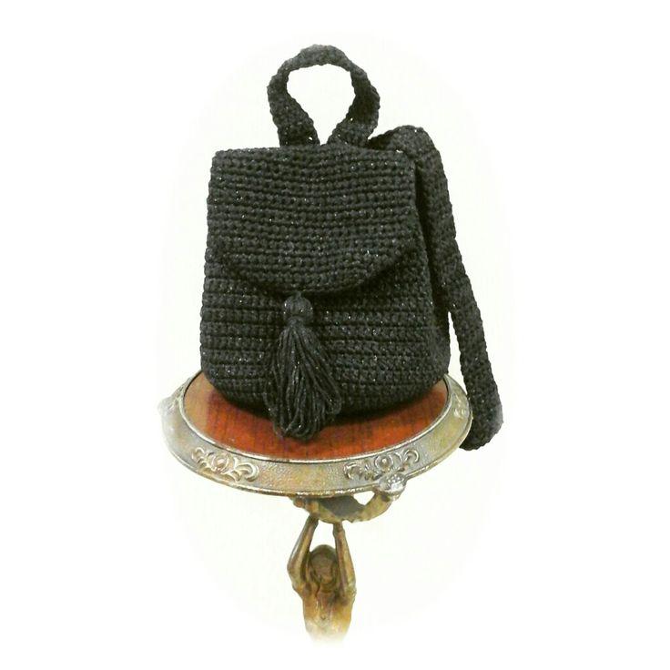 Рюкзачок от @knitbyolgabronina  Использована пряжа NOVITA Paola