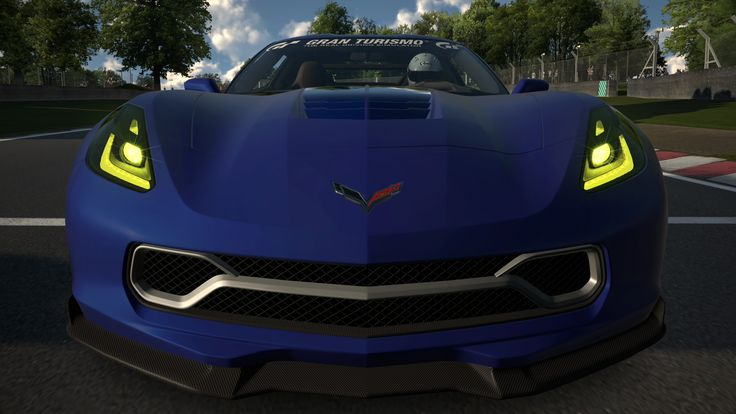 Chevrolet Corvette Stingray Gran Turismo Concept '13 - Brands Hatch Grand Prix Circuit [GT6]