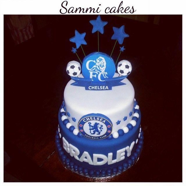 Chelsea soccer cake
