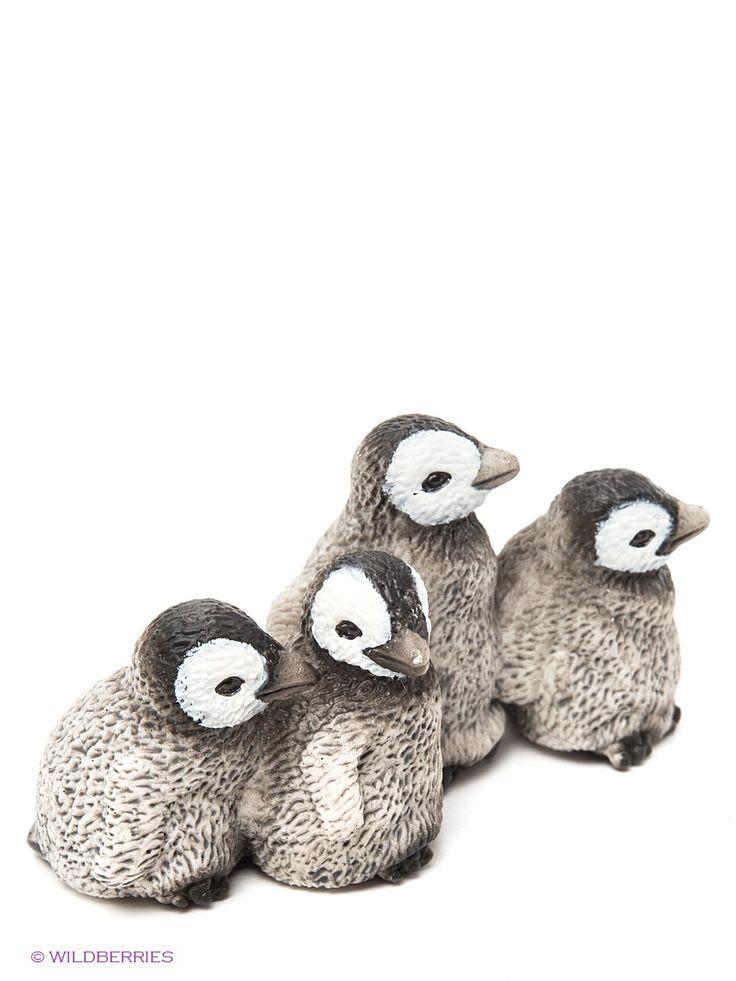 """Королевские пингвины, птенцы, серия """"Дикие животные"""" 14618"""