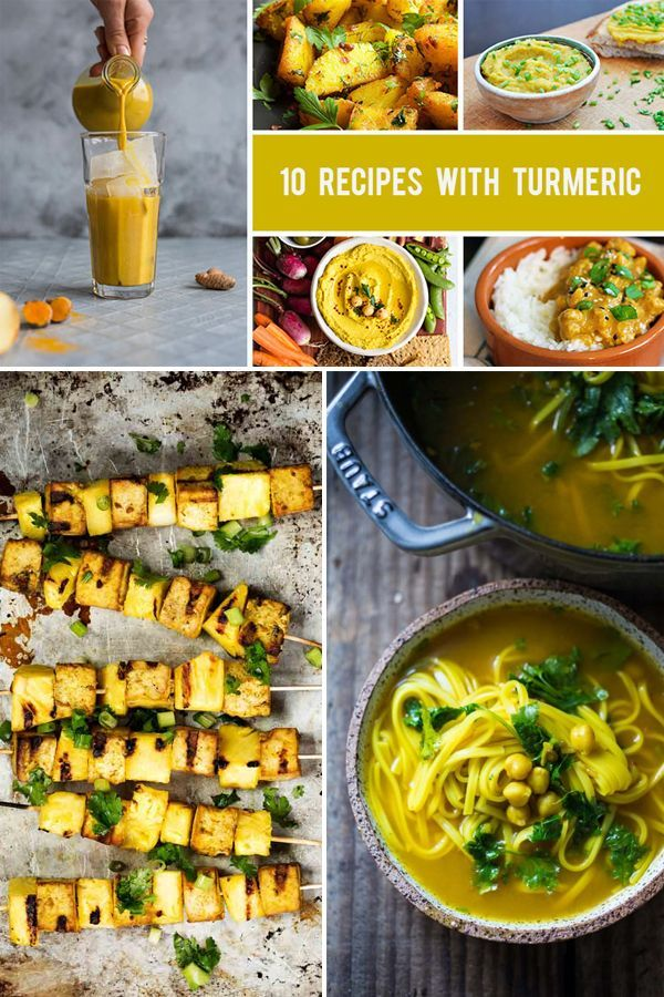 10 Recipes With Turmeric That Are Both Healthy And Delicious