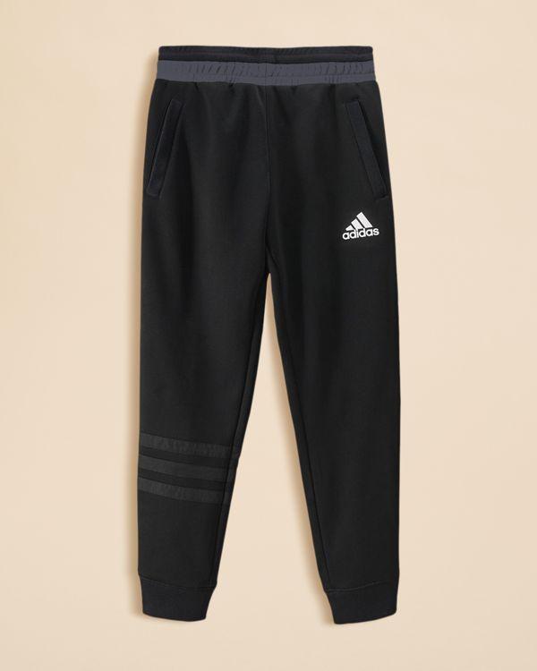 Adidas Boys' Elevated Tech Basketball Pants - Sizes S-xl