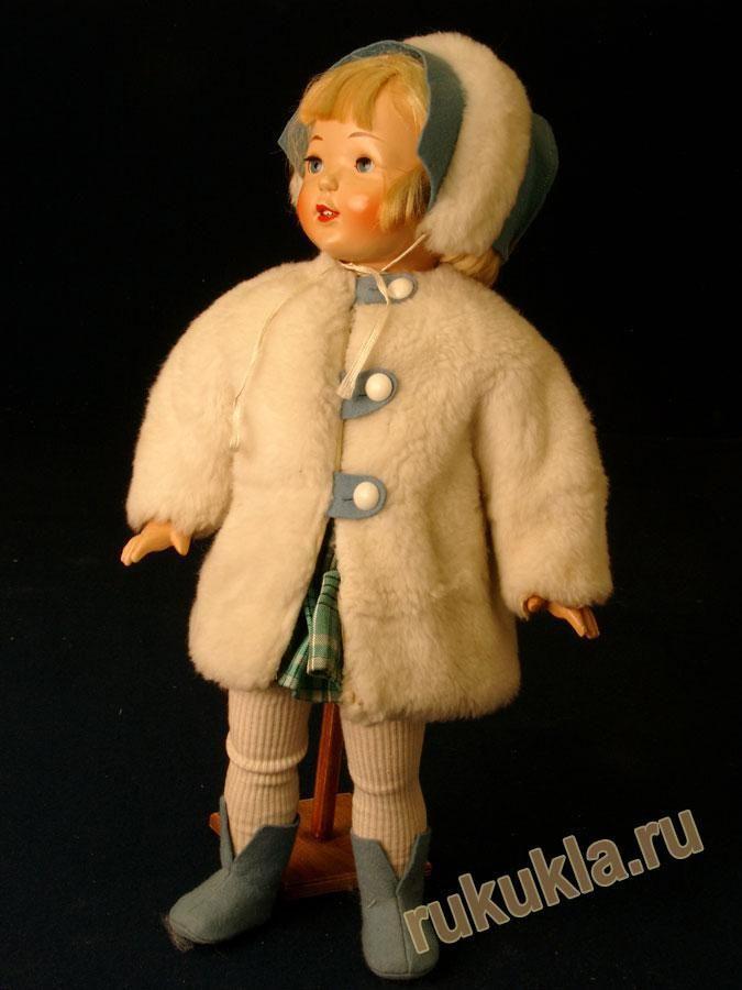 кукла художника Е.Е. Борисовой