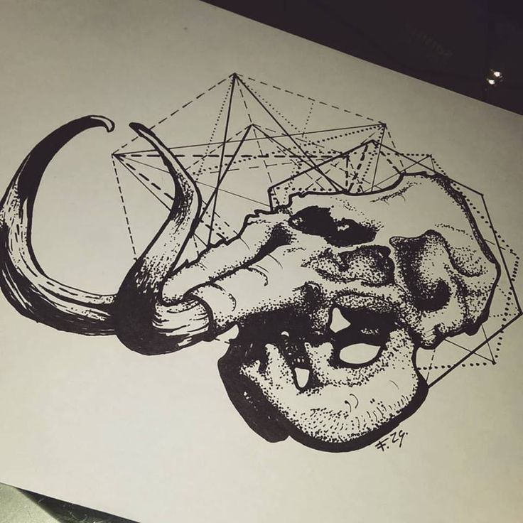 #mamout #dotwork #fzsa #artwork #tattoo #designs