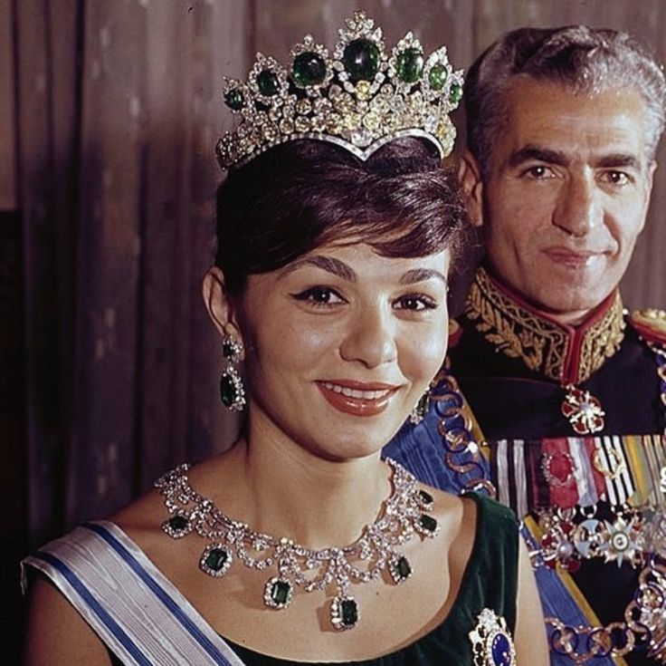 Iran's Shah and Queen
