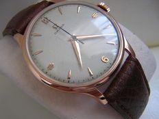 Omega orologio da polso molto grande in oro rosa massiccio 14 kt del 1950 circa
