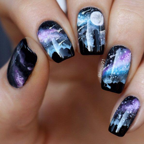 51 Cute Creative Galaxy Nail Art Designs We Love