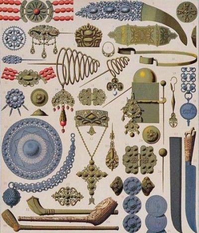 Dutch Folk Jewelry