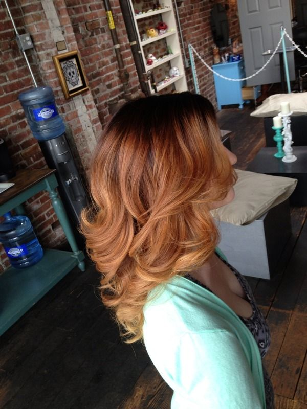 Love the layers and the color.  This might be my next haircut!