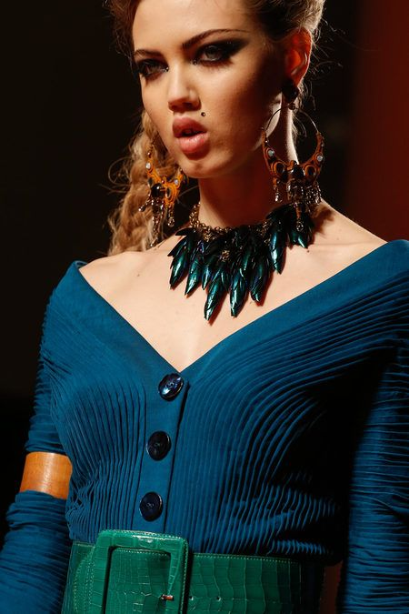 Jean Paul Gaultier Spring 2013 Couture Collection Slideshow on Style.com