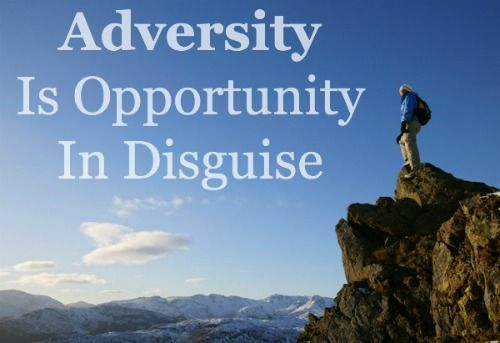 overcoming adversity quote, dealing with difficulties
