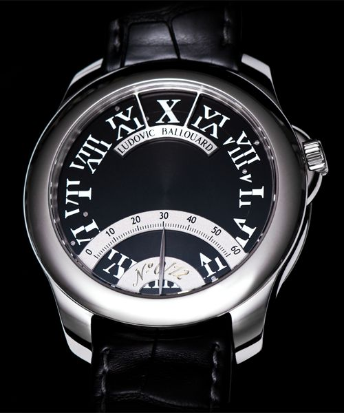 Ludovic Ballouard Half Time  Platinum Hand Wound Available at Cellini Jewelers
