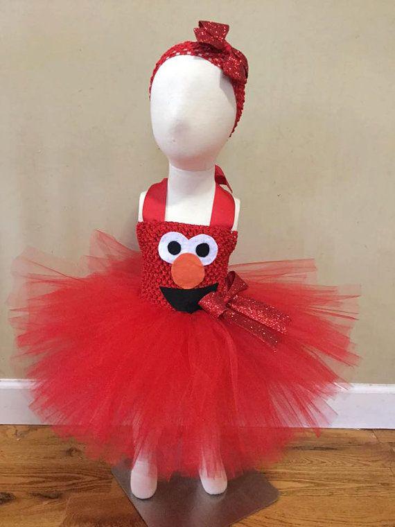 Elmo tutu disfraz cumpleaños equipar por SassyCoutureCreation