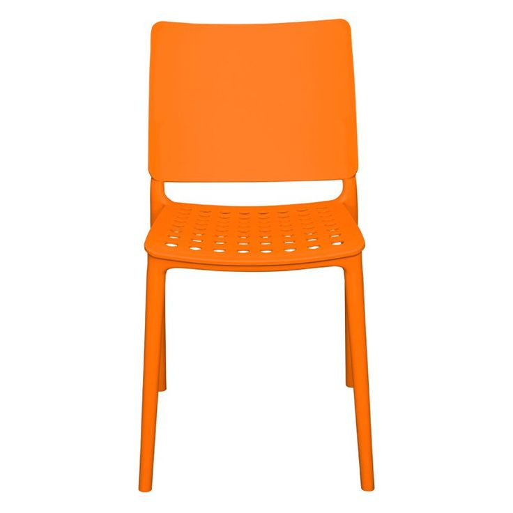 Outdoor Source Contract Marcay Patio Dining Side Chair - SC-2604-162-ORG