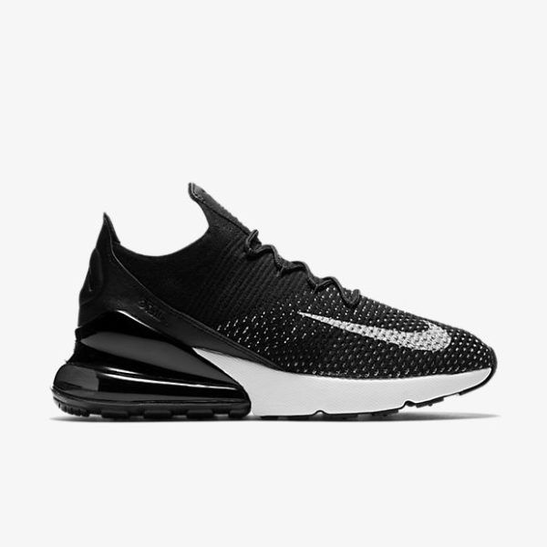 830525709a Nike Air Max 270 Flyknit Black in 2019 | Black outfits | Nike air ...