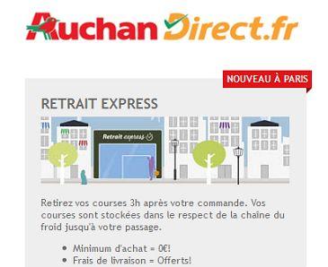 Auchan Direct lance un drive piéton à Paris