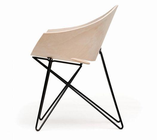 Fotel RM56, projekt Roman Modzelewski, producent Vzór