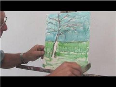 Acrylic painting techniques for beginners revolves around laying down the basic foundation of an image, such as painting in a background and foreground wash before adding in the focal point details. Start your first acrylic painting with art instruction from a professional artist in this free video on painting techniques.    Expert: Ralph Papa  Con...