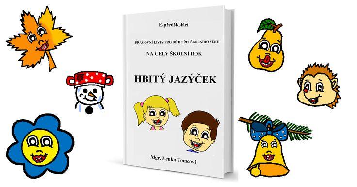 E-book Hbitý jazýček - procvičení artikulace a motoriky mluvidel