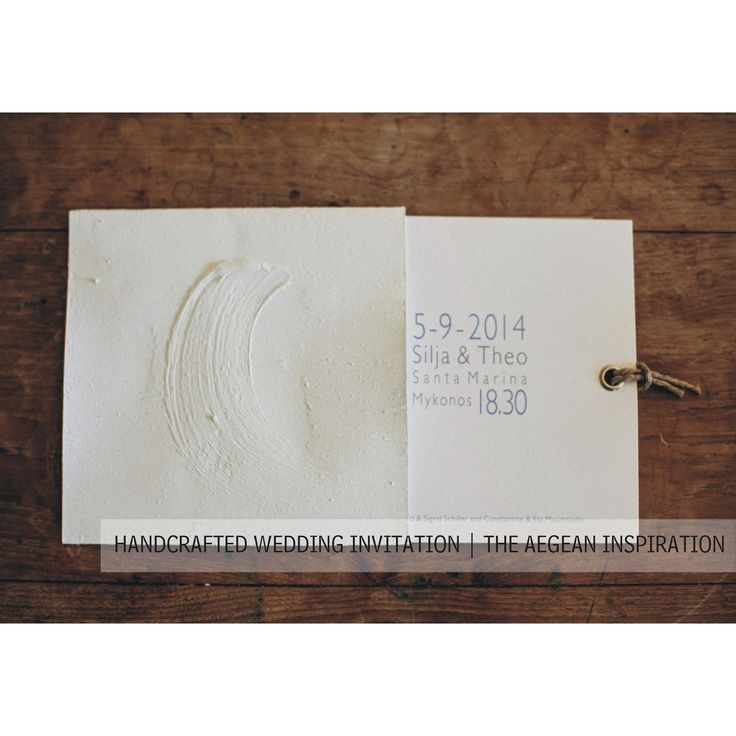 wedding in santorini | handcrafted wedding invitations | beautifully captured by @mkourti | unique wedding ideas by www.bemyguest.com.gr