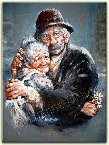 Loving Couple by Dianne Dengel