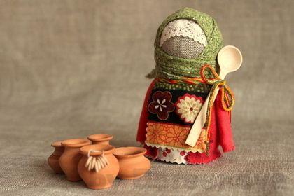 Народные куклы ручной работы. Ярмарка Мастеров - ручная работа. Купить Крупеничка. Handmade. Русский стиль, народная традиция, кружево Элина Берсенева