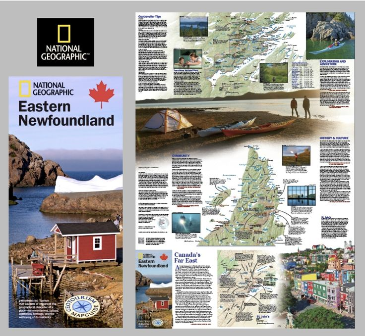 The map highlights great local sights; hikes and walks, Iceberg Alley, the East Coast Trail trail heads, where to see fascinating wildlife, interesting and unique dining experiences, local Newfoundland music, kayaking, remote swimming holes and great ocean tours. All combined, it  is a great tool to help you organize an itinerary that will ensure your experience in Newfoundland & Labrador is memorable.