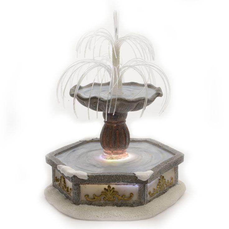 Fontaine Lumineuse en Fibre Optique pour aménager un village : choisissez parmi tous nos produits Personnage et accessoire pour village