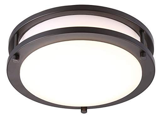 30 Cloudy Bay Led Flush Mount Ceiling Light 10 Inch 17w 120w Equivalent Dimmable 1150lm 3000k W Flush Mount Ceiling Lights Round Light Fixture Ceiling Lights