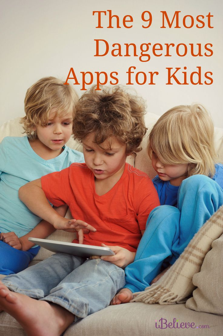 Here are the 9 Most Dangerous Apps for Kids. A MUST READ for all parents! Would you add any to the list?