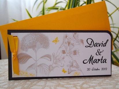 2 invitaciones de boda caseras | Preparar tu boda es facilisimo.com