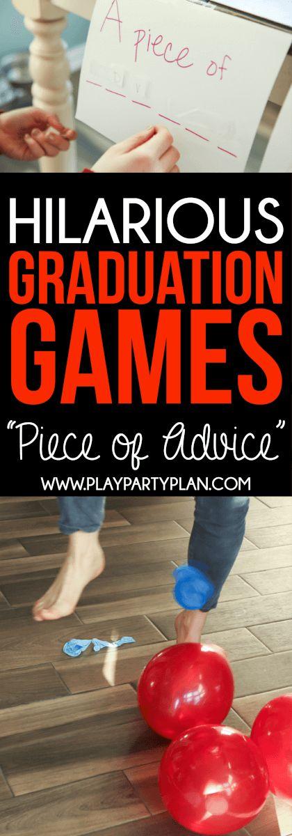 Hilarious Graduation Party Games 129 best Graduation