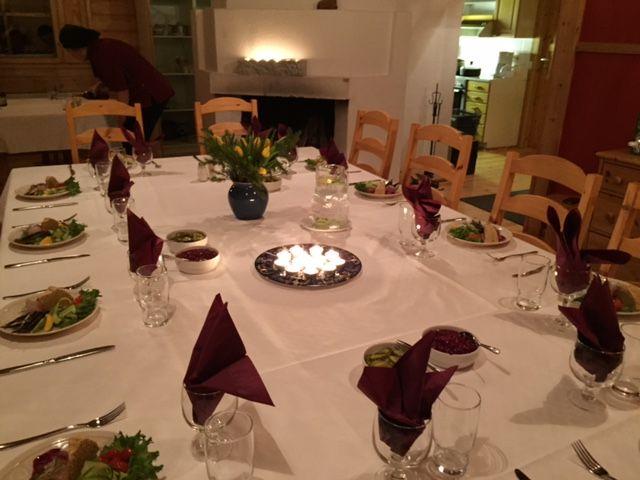 Catering by Kahvila Vintti at Rukakorpi Holiday Villas