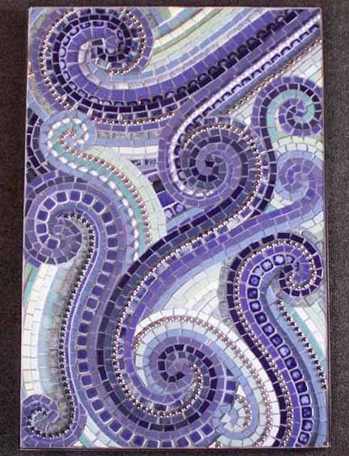 Ocean In Motion mosaic