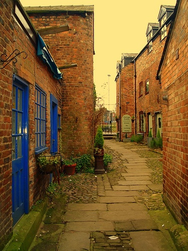 An Old Ginnel...Ormskirk...Lancashire..UK, via Flickr.