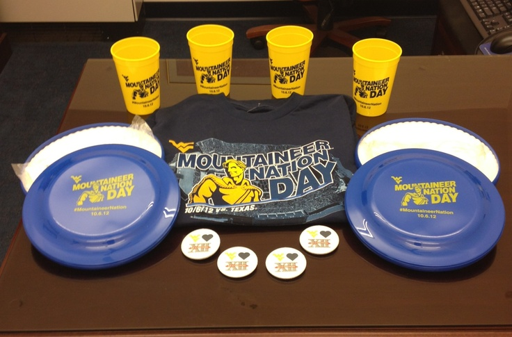 These prize packs will be going out some lucky #MountaineerNation Day game watch coordinators. Register your party today at http://mountaineernationday.wvu.edu/register-watch-party to get in the drawing for prizes.